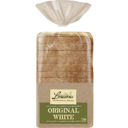 Photo of Lawson's Original White Extra Thick Sliced Bread Loaf 750g