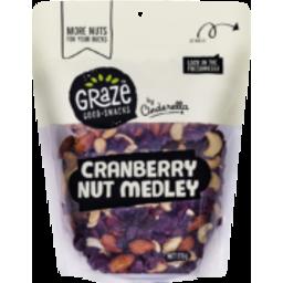 Photo of  Graze Cranberry Nut Medley 515g