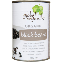 Photo of Global Organics - Black Beans - 400g