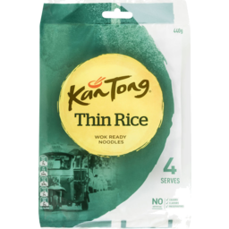 Photo of Kan Tong Inspirations Thin Rice Vermicelli Wok Ready Noodles 440g