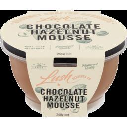 Photo of Lush Choc Hazelnut Mousse 250g