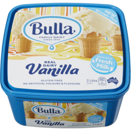 Photo of Bulla Ice Cream Vanilla 2l