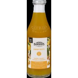Photo of Barkers Fruit Syrup Immunity Lemon, Honey, Ginger & Turmeric 710ml