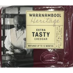 Photo of Warrnambool Extra Tasty Cheese 250gm