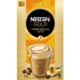 Photo of Nescafe Coffee Crème Brulee Latte 8pk