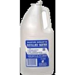 Photo of David Gray Distilled Water 4l