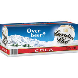 Photo of Canadian Club & Cola 375ml 10 Pack