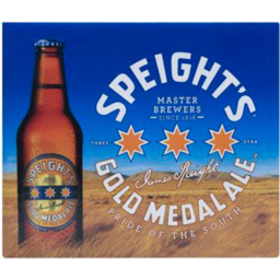 Photo of Speights Gold Medal Ale Bottles 330ml 12 Pack