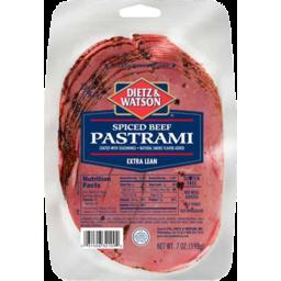 Photo of Dietz & Watson Pastrami Beef Spiced