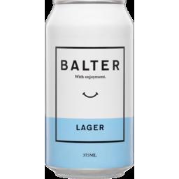 Photo of Balter Lager 375ml