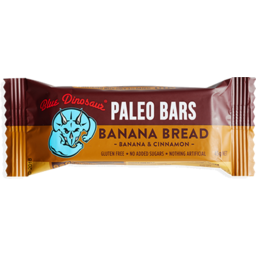 Photo of Blue Dinosaur Paleo Bars Banana Bread 45g