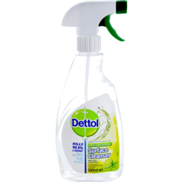 Photo of Dettol Multipurpose Antibacterial Disinfectant Surface Cleaning Trigger Spray Lime And Mint 500ml