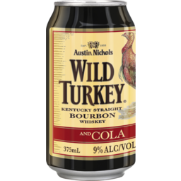 Photo of Wild Turkey Heritage Bourbon & Cola Can