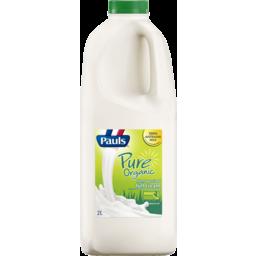 Photo of Pauls Pure Organic Full Cream Milk 2l