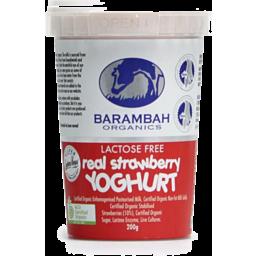 Photo of Barambah Yoghurt - Real Strawberry