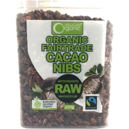 Photo of Abs Org Cacao Nibs 250g