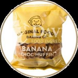 Photo of Original Foods Banana Chocolate Muffin 140g