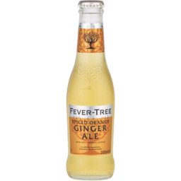 Photo of Fever Tree Ginger Ale Bottles