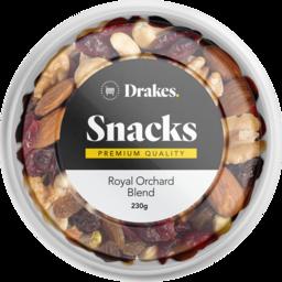 Photo of Drakes Snacks Royal Orchard Blend Tub 230g