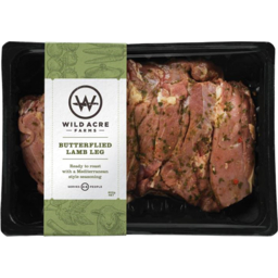 Photo of Wild Acre Butterfly Lamb Leg 800g