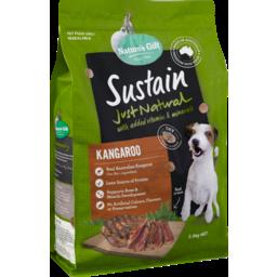Photo of Nature's Gift Sustain Kangaroo Dry Dog Food 2.5kg