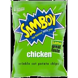 Photo of Samboy Chicken Potato Chips 175gm
