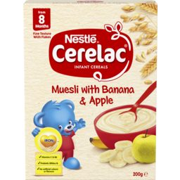 Photo of Nestle Cerelac Multigrain With Banana & Apple Baby Cereal Stage 3 200g