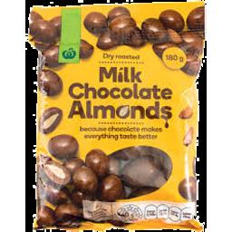 Photo of WW Milk Chocolate Coated Almonds 180g