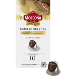 Photo of Moccona Barista Reserve Cappuccino Intensity 10 For Nespresso®* Machines