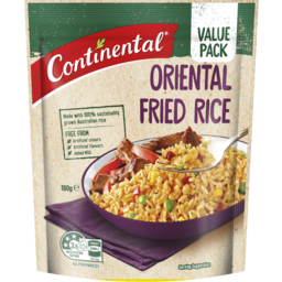 Photo of Continental Oriental Value Pack Fried Rice 180g