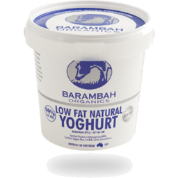 Photo of Barambah Organics Low Fat Natural Yoghurt