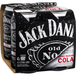 Photo of Jack Daniel's Tennessee Whiskey & Zero Sugar Cola