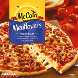 Photo of Mccain Pizza Meatlovers 500