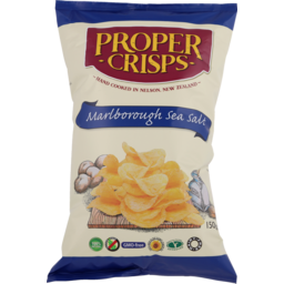 Photo of Proper Crisps Marlbourgh Sea Salt 150g
