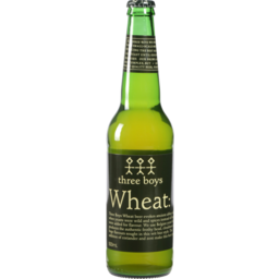 Photo of Three Boys Brewery Beer Wheat 500ml