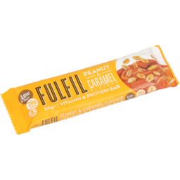 Photo of Fulfil Protein Bar Peanut & Caramel 55g 55g