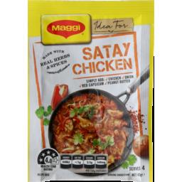 Photo of Maggi Recipe Base Satay Chicken Gf 43g