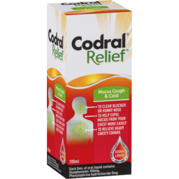 Photo of Codral Relief Mucus Cough & Cold 200ml