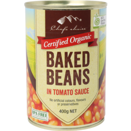 Photo of Chefs Choice - Baked Beans In Tomato Sauce - 400g