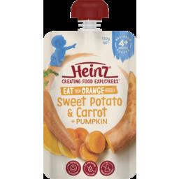 Photo of Heinz Eat Orange Sweet Potato, Carrot & Pumpkin 120gm