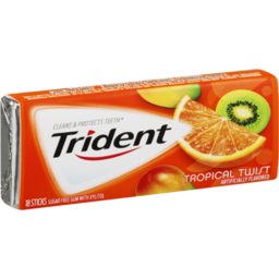 Photo of Trident Tropical Twist Sugar Free Gum - 18 Ct