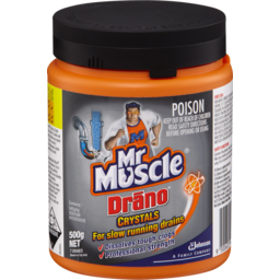 Photo of Mr Muscle Drano Crystals 500gm