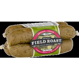 Photo of Field Roast Grain Meat Sausages Vegetarian Smoked Apple Sage - 4 Ct