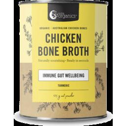 Photo of Nutra Organics - Chicken Broth - Immune Wellbeing Gut - Turmeric - 125g