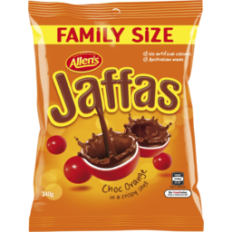Photo of Allen's Jaffas Family Size