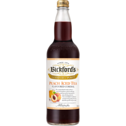 Photo of Bickfords Peach Tea Cordial 750ml