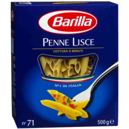 Photo of Barilla Pasta Penne Lisce No 71gm