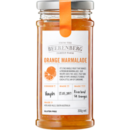 Photo of Beerenberg Orange Marmalade 300gm