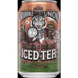 Photo of Brookvale Union Vodka & Peach Iced Tea Can