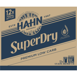 Photo of Hahn Super Dry Bottle